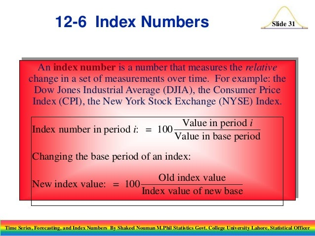 index number Indexnumr is a package for computing indices of aggregate prices or quantities using information on the prices and quantities on multiple products over multiple time periods such numbers are routinely computed by statistical agencies to measure, for example, the general change in the level of.