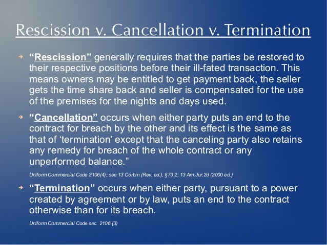 How to get out of your timeshare rescission v spiritdancerdesigns Image collections