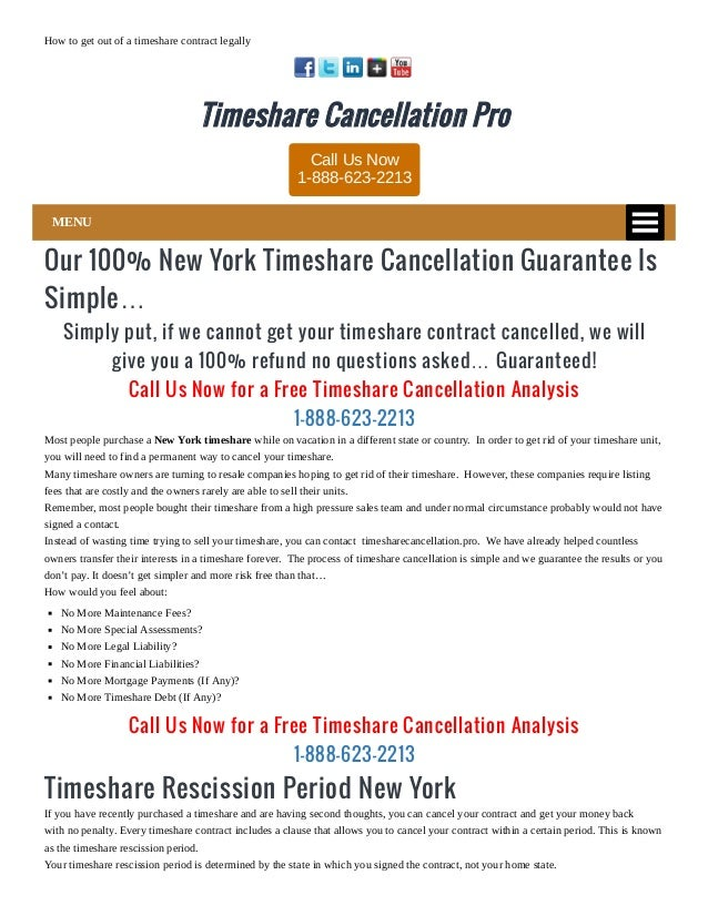 Timeshare Cancellation Letter Template from image.slidesharecdn.com
