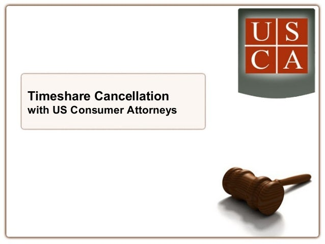 Timeshare Cancellation with US Consumer Attorneys