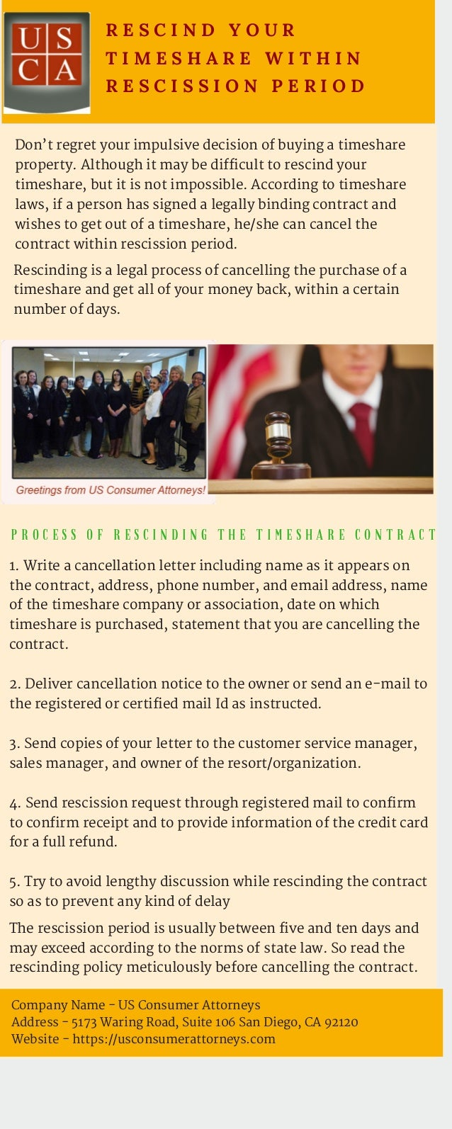 Timeshare news us consumer attorneys r e s c i n d y o u r t i m e s h a r e w i t h i n r e s c i s s i o n p e r i o d dont regret your impulsive decision o kristyandbryce Images