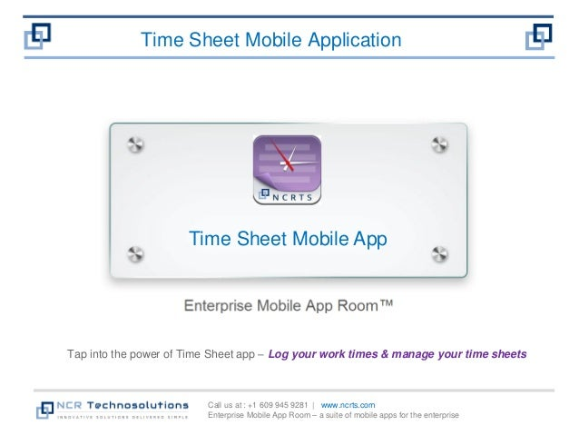 time sheet mobile app log your work times and manage time sheets