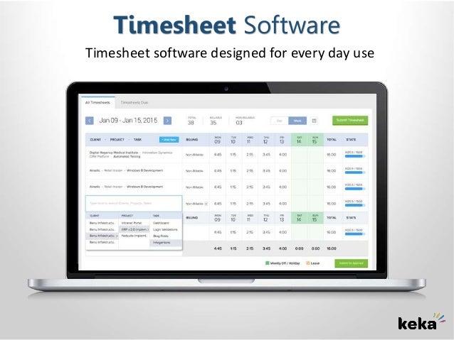 Timesheet software   India's best timesheet software