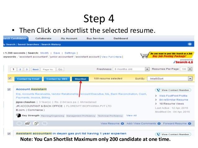 download resume for job