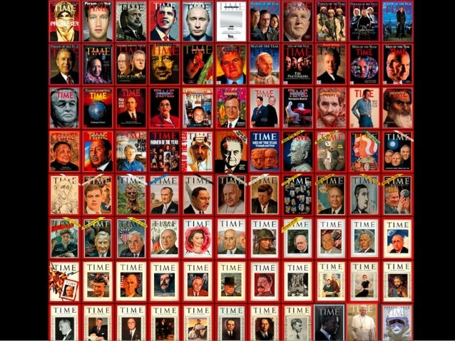 TIME's Person of the Year, from 1927 to 2014