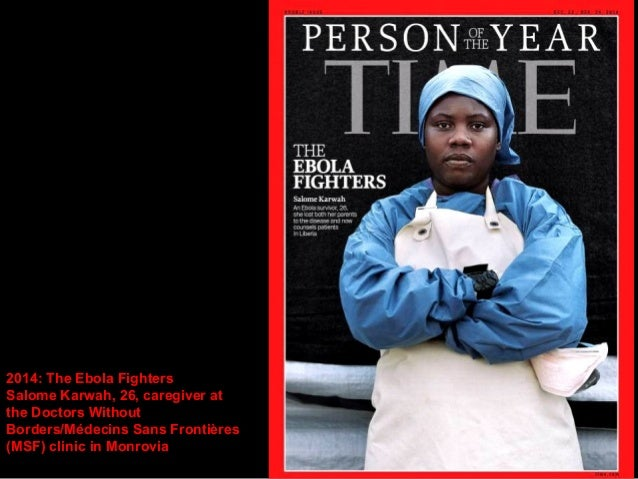 2014: The Ebola Fighters  Foday Gallah, 37,  ambulance supervisor in  Monrovia