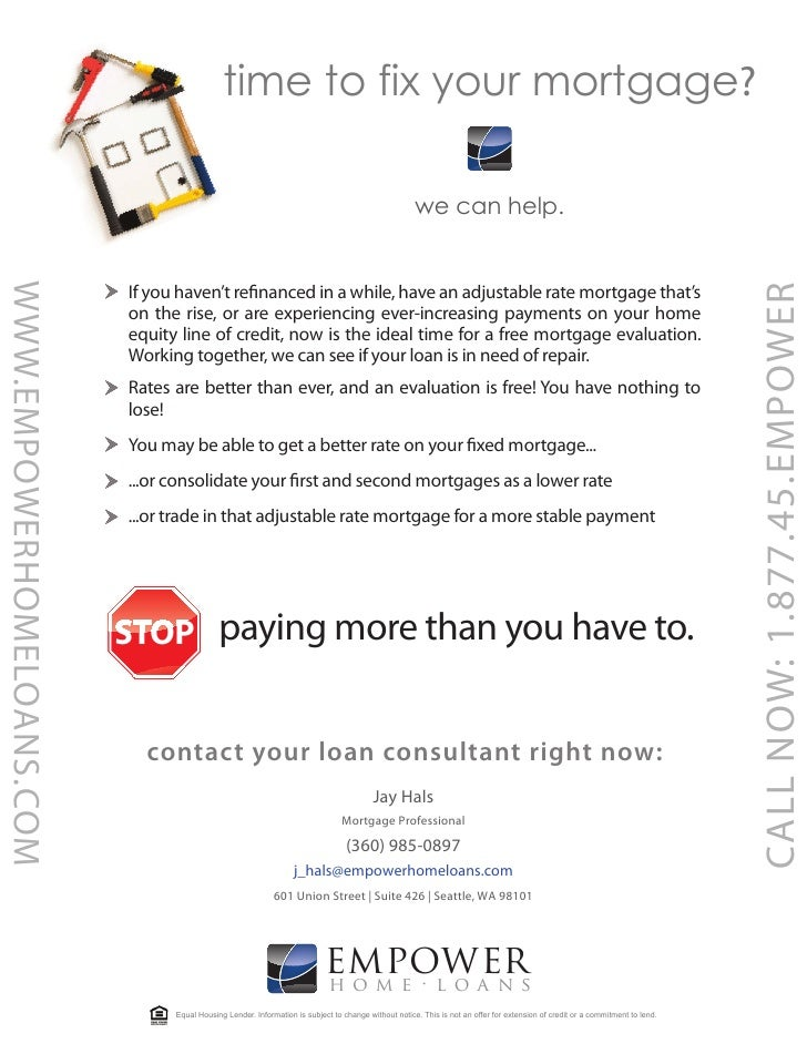 time to fix your mortgage?                                                                                                ...