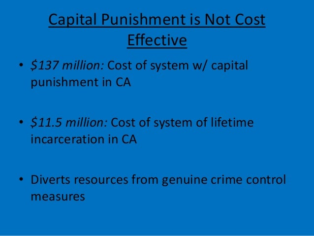 capital punishment vs life in prison essay The death penalty is the punishment of execution, carried out legally against an individual convicted of a capital crime those who support the death penalty might argue that it is just, and deters further murders, while others against it may argue that it is inhumane and it doesn't solve any core problems in that person's life.