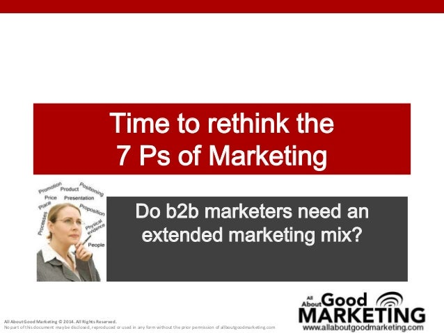 the extended marketing mix The marketing mix is very important for marketer marketing mix has affect on consumers decision to buy or not there are clearly many factors.