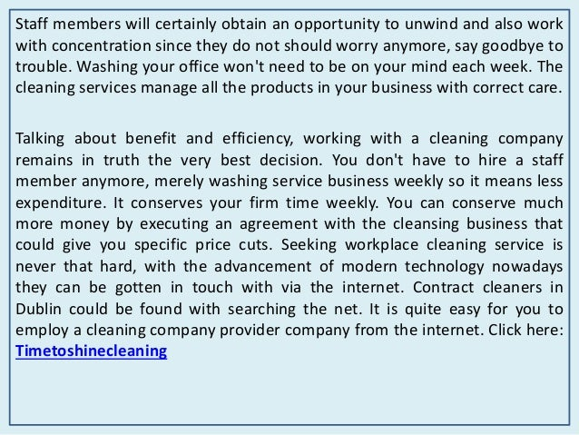 Time to shine commercial & residential cleaning company Slide 3