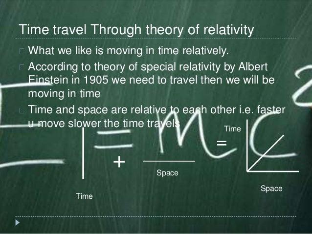 Time Travel Using Theory Of Relativity