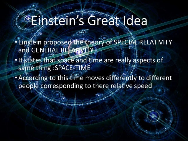 einsteins theory of relativity opens doors for possibility of time travel See more ideas about einstein theory of time, theory of relativity einstein special relativity time travel einsteins theory of special relativity.