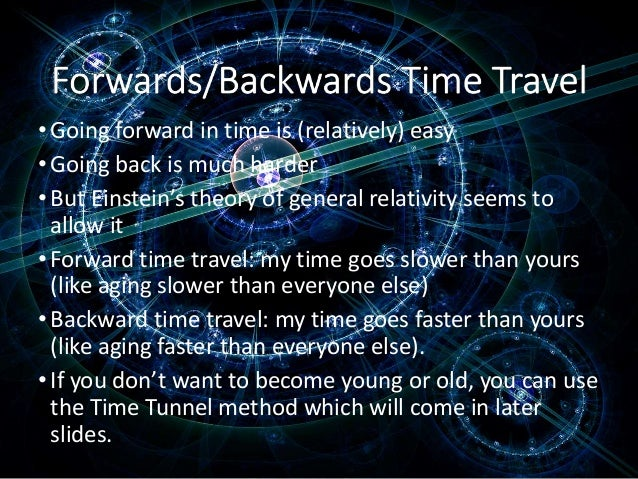 Back To The Future Time Travel Theory