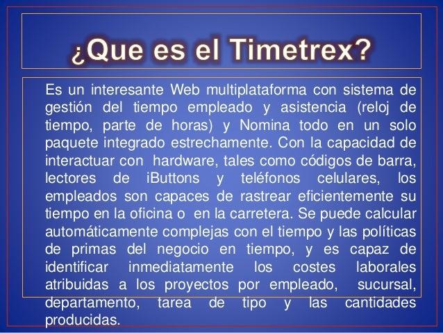 Pasos e Instalación del Software Libre Timetrex. Slide 3