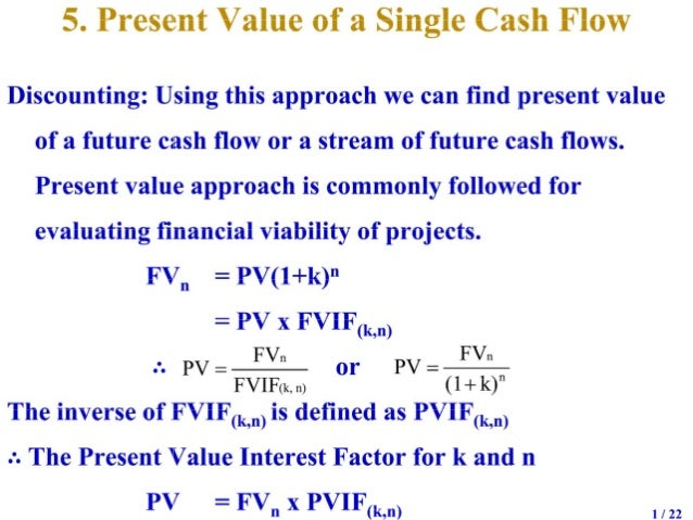 Time Value Of Money 2