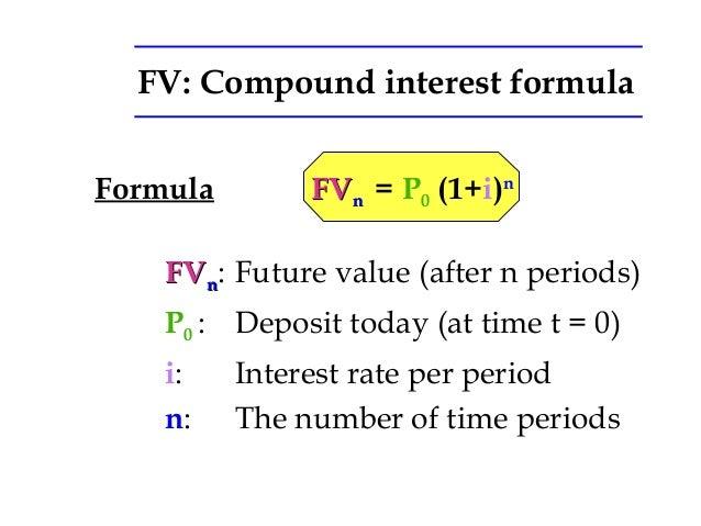 fv formula