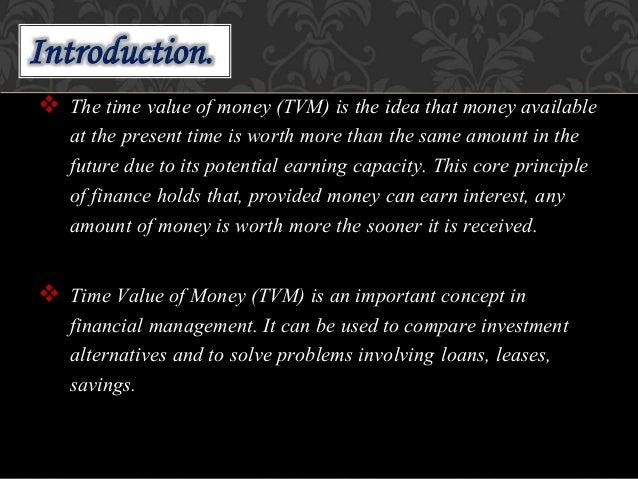 Time value of money ppt. Slide 2