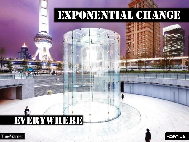 Exponential changeeverywhere
