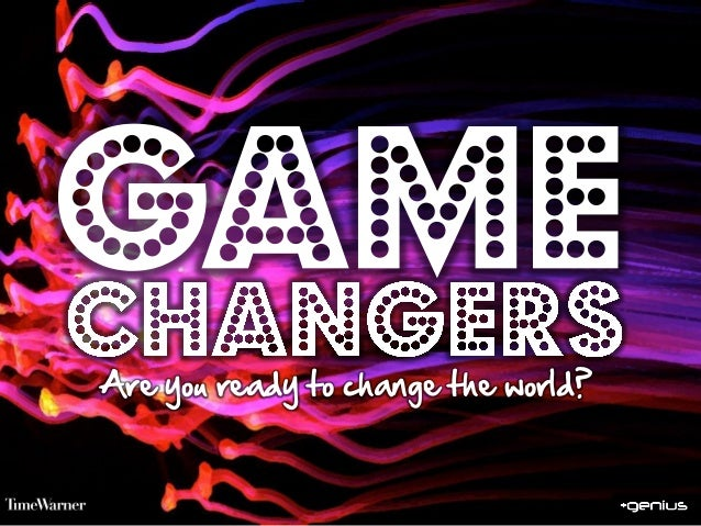 Welcome to thegamechangers