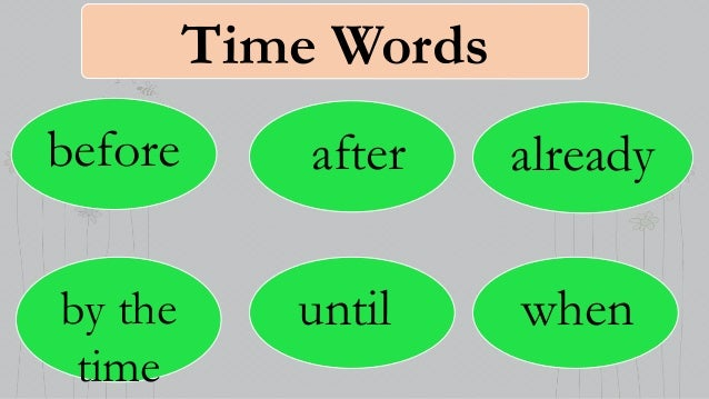 word for time