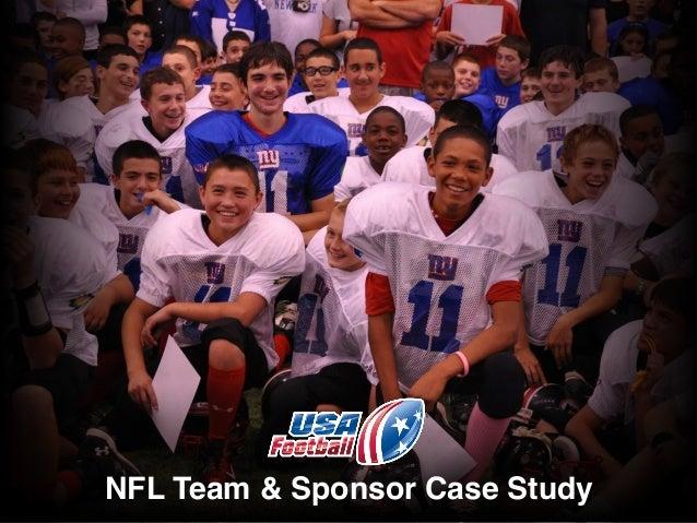 NFL Team & Sponsor Case Study