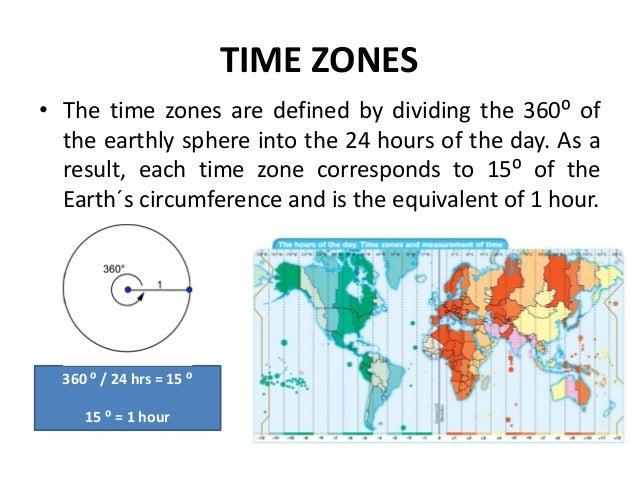 12. TIME ZONES ...