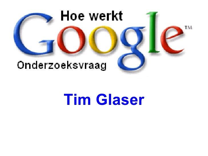 Tim Glaser