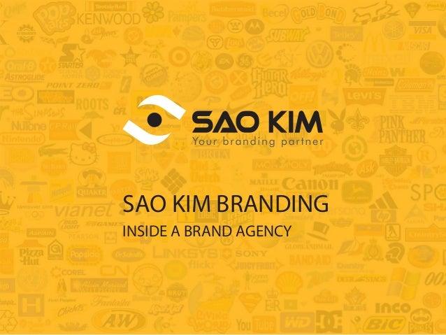 SAO KIM BRANDING  INSIDE A BRAND AGENCY