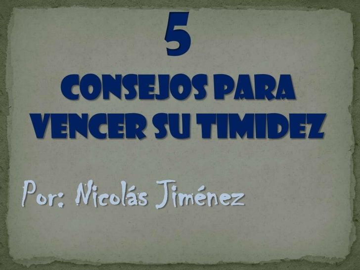 Por: Nicolás Jiménez