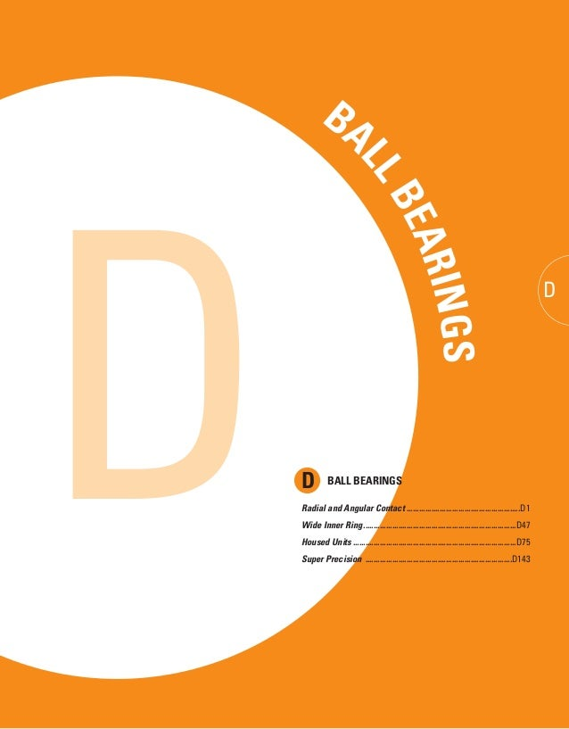 TIMKEN SERVICE CATALOG D • TIMKEN PRODUCTS CATALOG DTIMKEN SERVICE CATALOG B D BA LLBEARINGS AD D BALL BEARINGS Radial and...