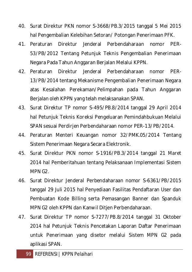 Tim KPPN Pelaihari - Buku Manual Seksi Bank (2015)