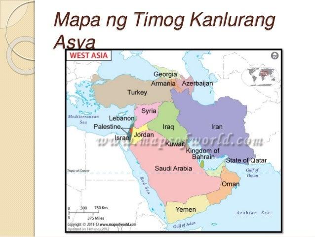 Asya sa mapa