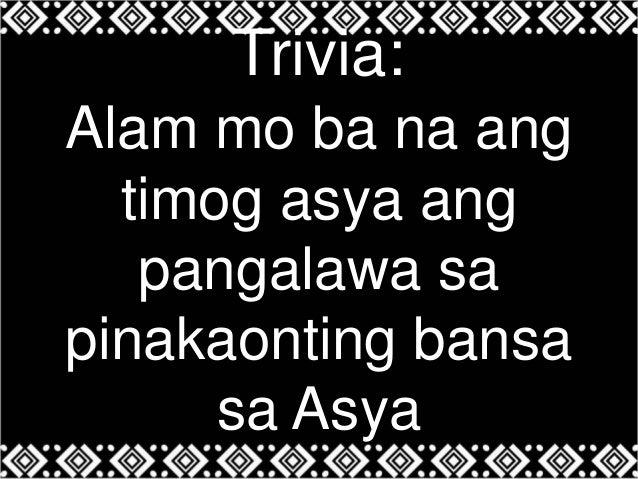 trivia tungkol sa pilipinas Pero alam nyo ba kung ano ang pinakamalakas na bagyo ang tumama sa pilipinas sa talaan ng pagasa,  author: tuklas // category: philippine trivia.