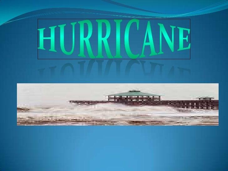 hurricane<br />