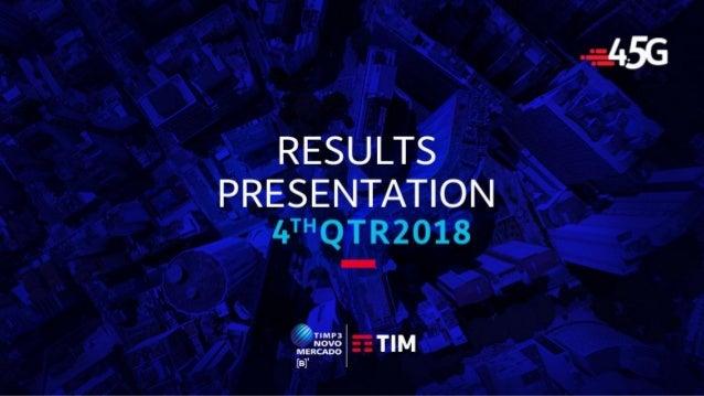 TIM Participações - Investor Relations Results Presentation
