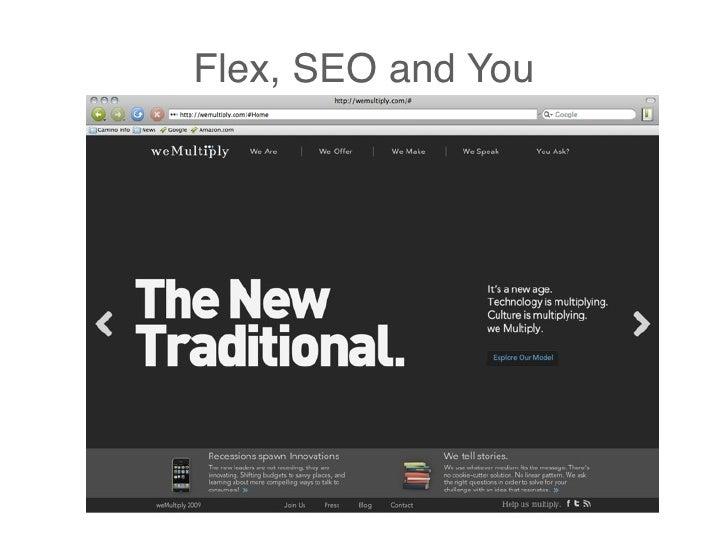 Flex, SEO and You