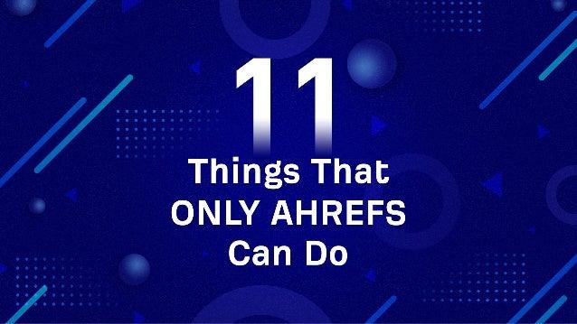 The secret to ranking #1: