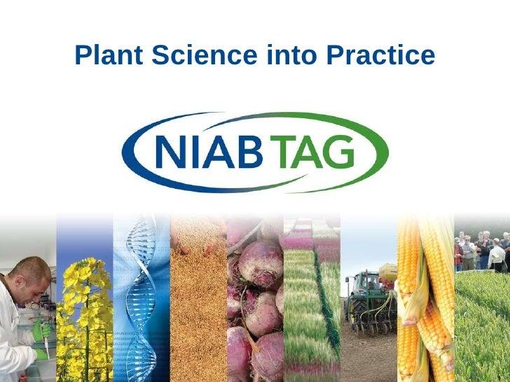 Plant Science into Practice