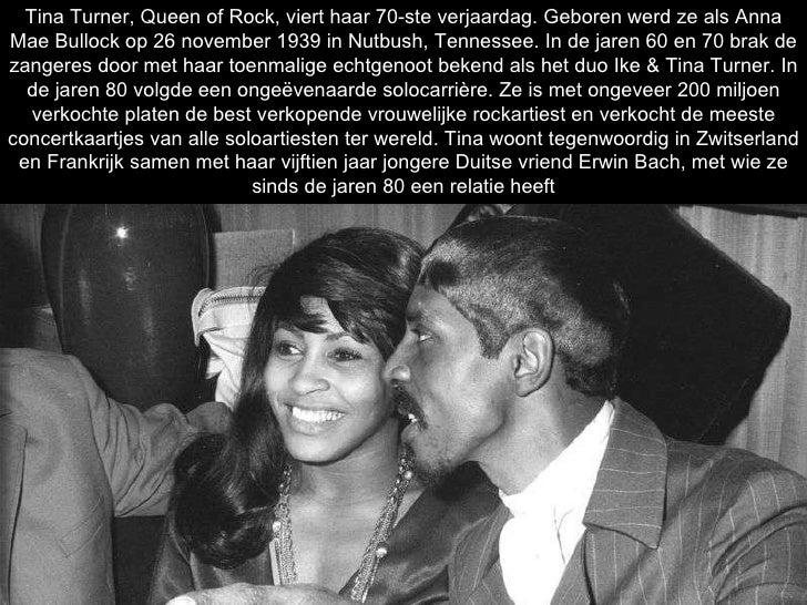 Tina Turner, Queen of Rock, viert haar 70-ste verjaardag. Geboren werd ze als Anna Mae Bullock op 26 november 1939 in Nutb...
