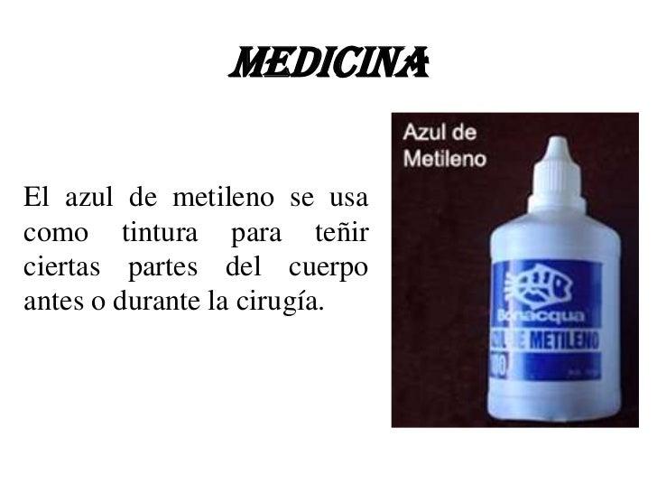 Tinción azul d metileno....