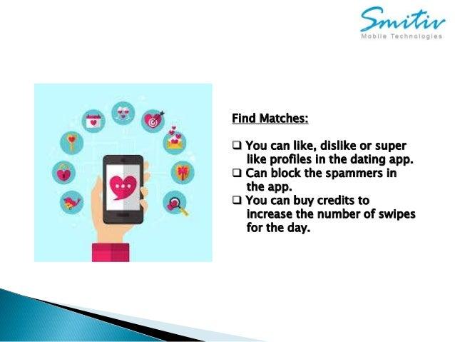 Like or dislike dating app
