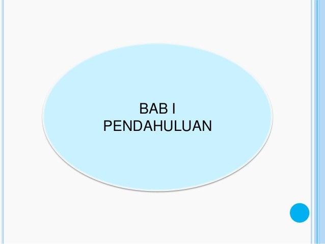 BAB IPENDAHULUAN