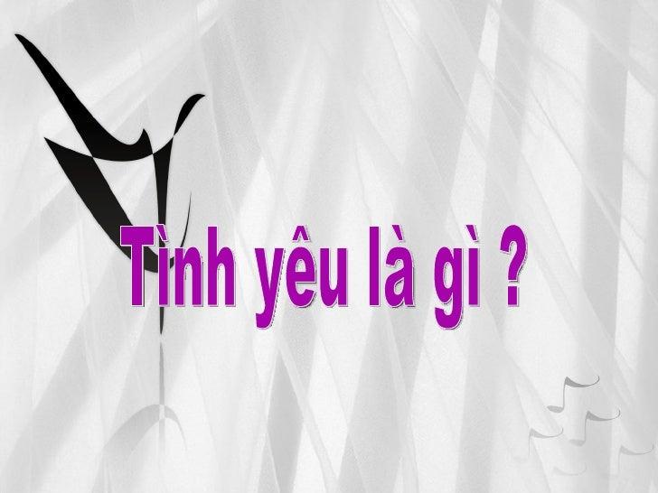 Tinh Ban Vs Tinh Yeu Slide 3
