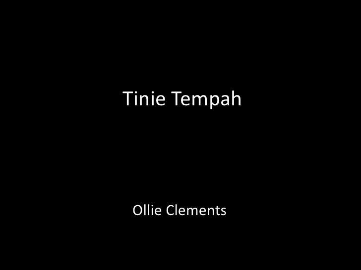 Tinie Tempah<br />Ollie Clements<br />