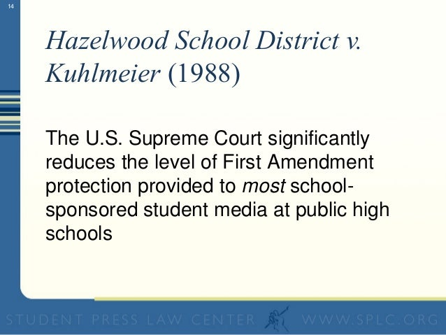 the issue of violations of students privacy in schools and similar court cases Recent changes affecting  of the two us supreme court cases  parental involvement in areas affecting the in-school privacy of students.