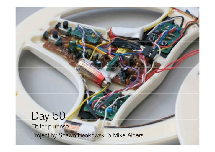 Day 50 Fit for purpose Project by Shawn Bonkowski & Mike Albers