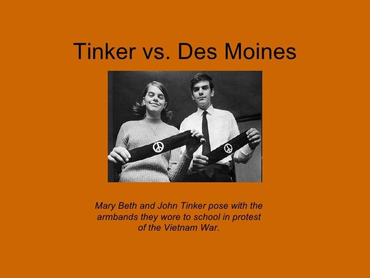 tinker / des moines ruling