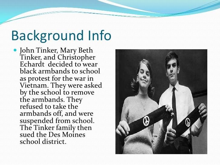 Essay on tinker v des moines - Free Essays on Tinker V Des