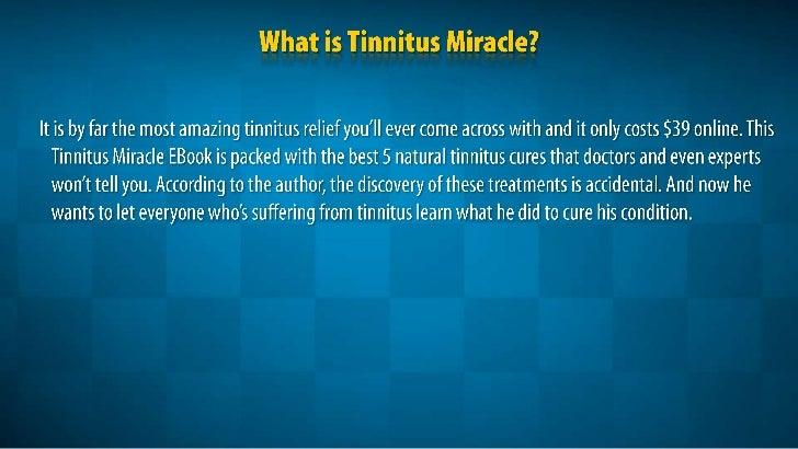 Rid Tinnitus Natural Cure
