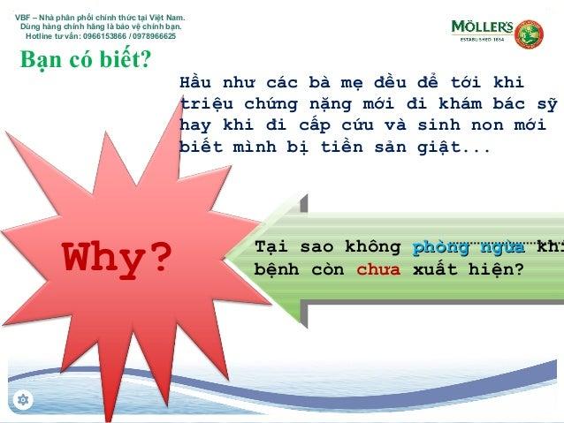 Why? Tại sao không phòng ngừaphòng ngừa khi bệnh còn chưa xuất hiện? Hầu như các bà mẹ đều để tới khi triệu chứng nặng mới...